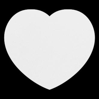 Коврик для мышки (сердце)