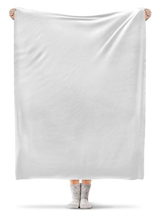 Плед флисовый 130×170 см