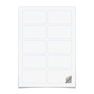 Наклейки прямоугольные 9×5 см