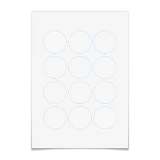 Наклейки круглые 5×5 см