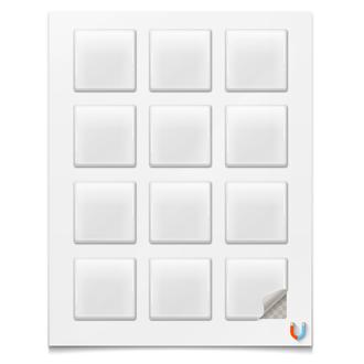 Магниты квадратные 5×5 см