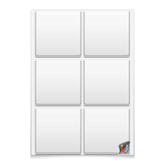 Магниты квадратные 9.5×9.5 см