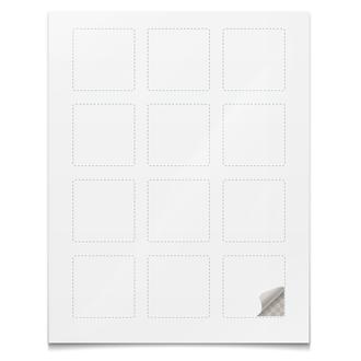 Наклейки квадратные 5×5 см