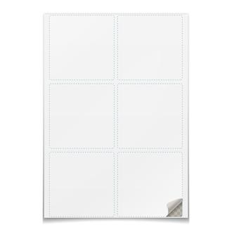 Наклейки квадратные 9.5×9.5 см
