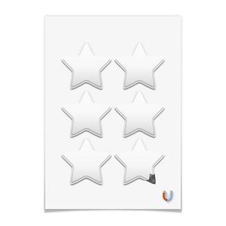 Магниты-звёзды 7.5×7.5 см