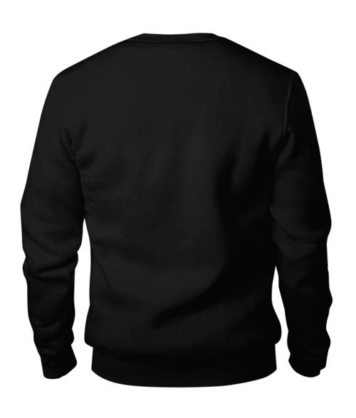 Свитшот унисекс хлопковый Зимушка, свитер с оленями.