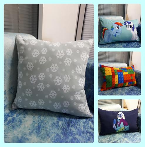 сублимационная печать на подушках