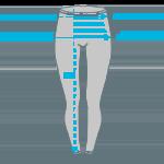 Size info leggings